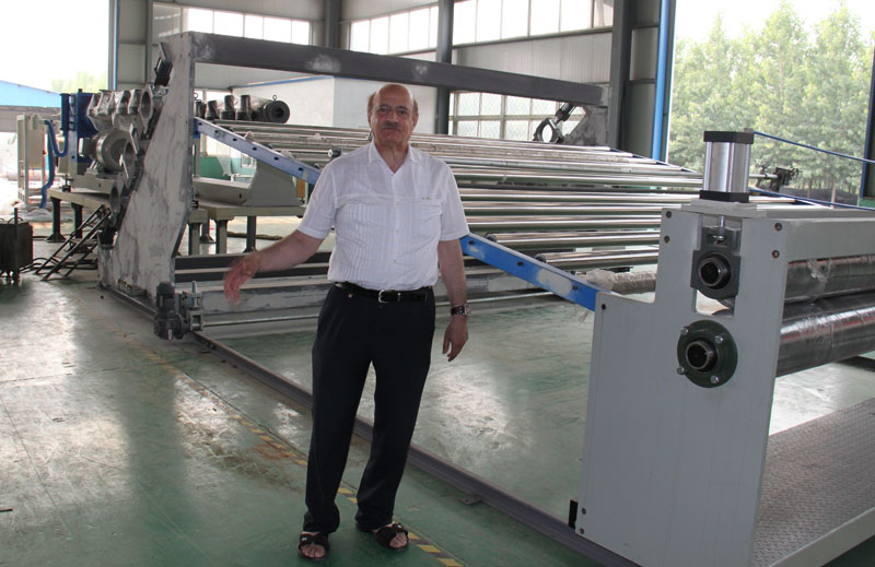 hdpe sheets production machine