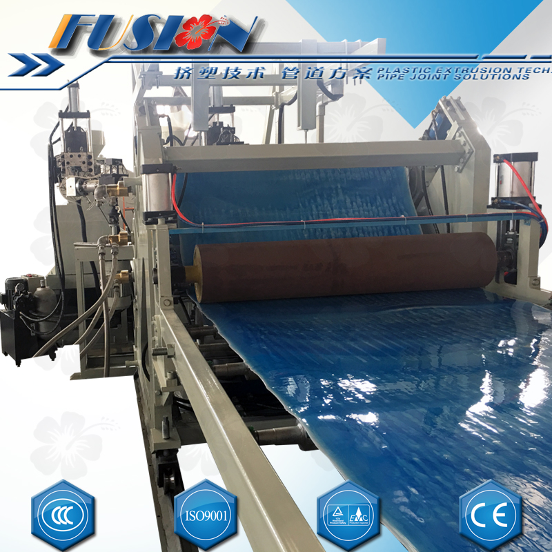 HDPE-PP-PET-ABS-PS-HIPS-PVC Sheet Extrusion Line